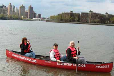 Earth Day Canoeing and Kayaking Event in Hallets Cove