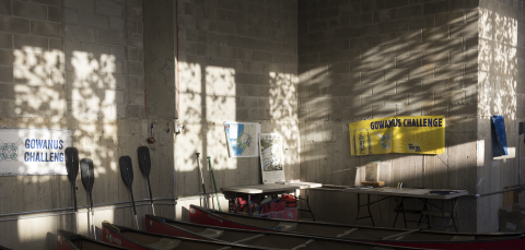 Afternoon Light Sift / Reflect on Club Walls