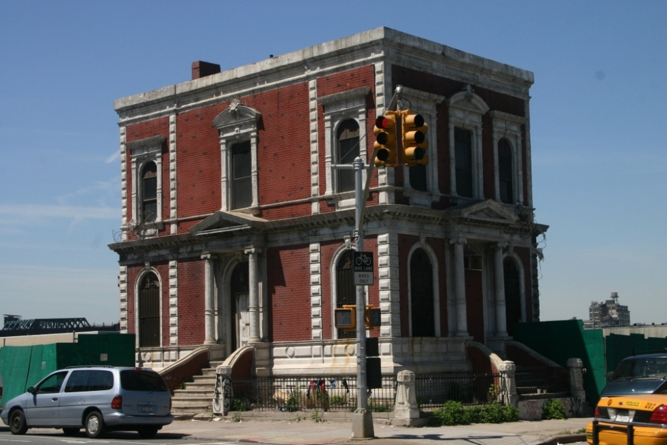 Coignet Stone Company Building Prior to Restoration